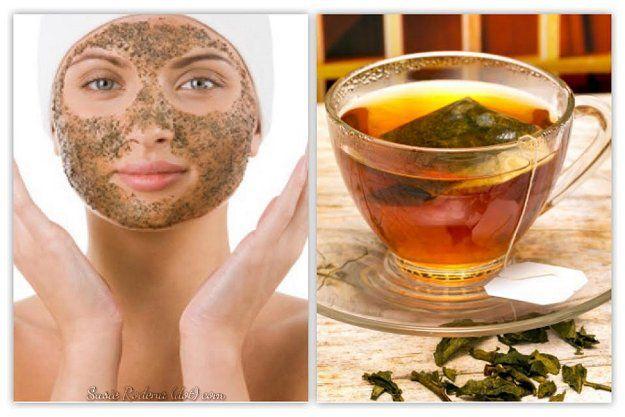 Por su contenido de polifenoles, el té verde ayuda a evitar la acción de los radicales libres (arrugas) y a reducir la inflamación de la piel que se origina por consumir alimento refinado (azúcar) o por el consumo excesivo de alcohol