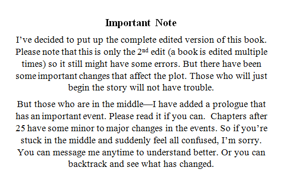 PLEASE READ: