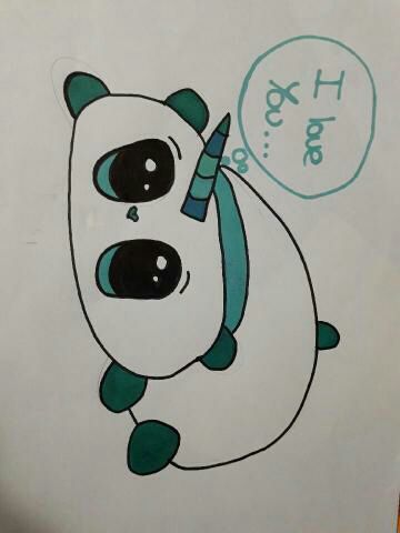 Artbook Un Panda A Corne Wattpad