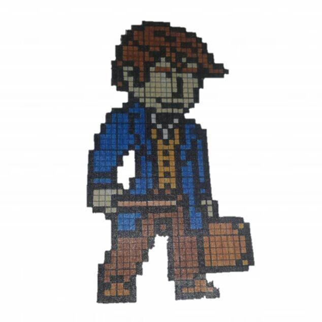 Pixel Art Terminé Les Animaux Fantastique Vs Once Upon A