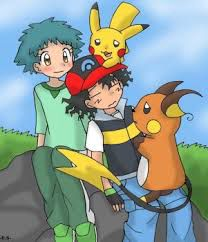 Think, that Pokemon ash and angie apologise, but