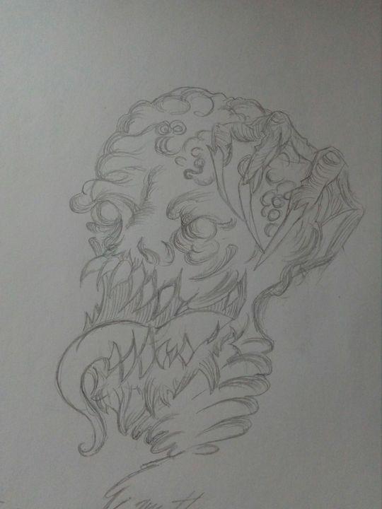 Disegni Fantasy Horror Monster Wattpad