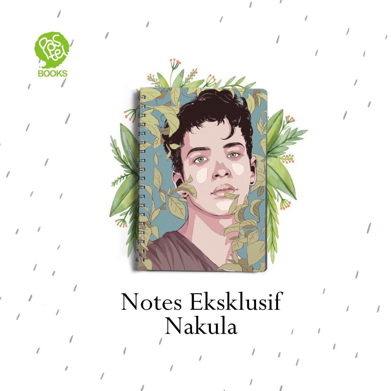 Kedua, kalian akan dapat tanda tangan aku+block note eksklusif sampul muka Nakula!!!