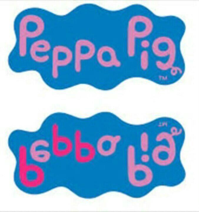 """Nesta imagem você pode ver que a logo da Peppa pig tem o numero """" 666(O número do anticristo )"""