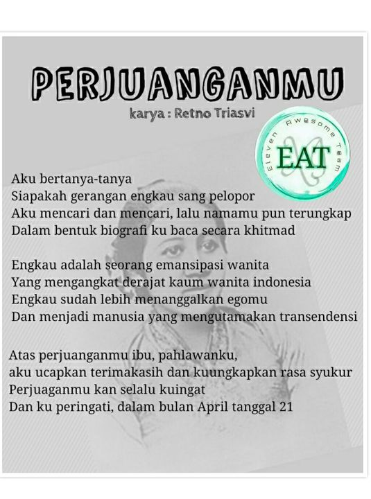 Surat Cinta Untuk Ibu Kartini Special Event Retno
