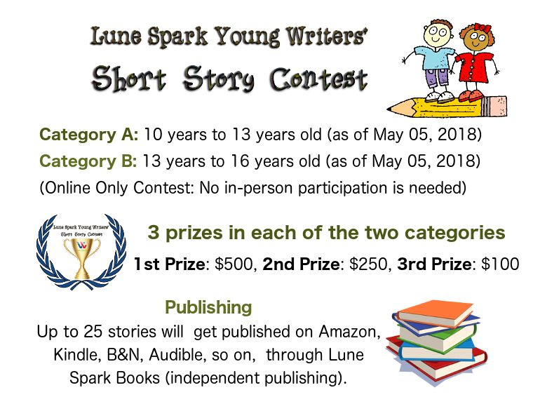 Free writing contests with cash prizes 2018