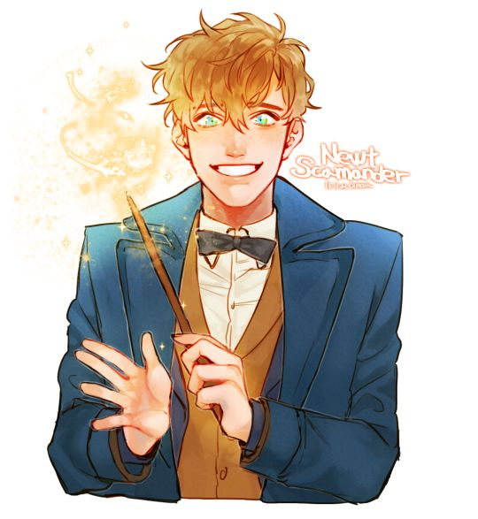 Newt Scamander x Reader Preferences and Imagines - 7 Minutes