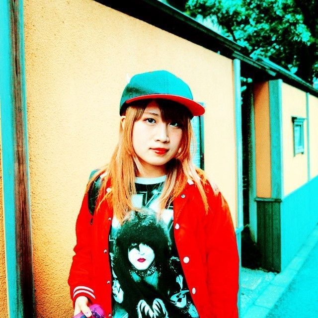 Here's TORIENA in March 2015, a few days after I first met her in Shibuya, and just before a gig in a nightclub on Dogenzaka hill