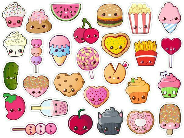 картинки милая еда