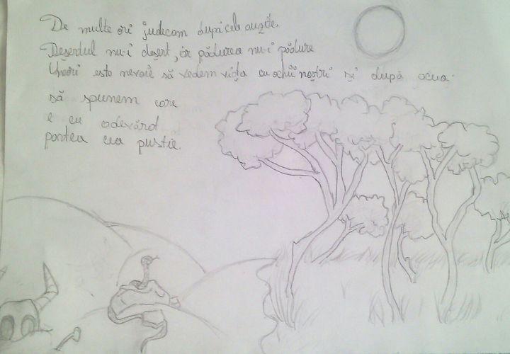 Desene In Creion Desertpadure Wattpad