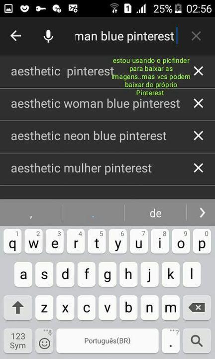 Pesquisem dessa forma aesthetic+objeto/pessoa+cor+pinterest