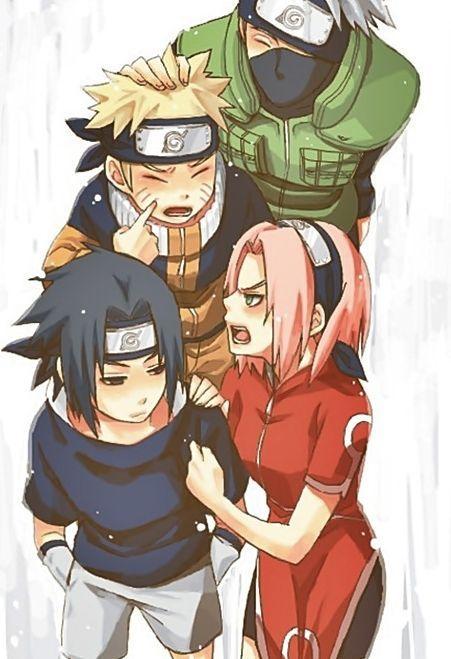 Cuando llegaron Naruko vio que estaba Naruto y su equipo estaban hay, pero Naruko ya no podía desviarse por Karin ya que vio a Sasuke