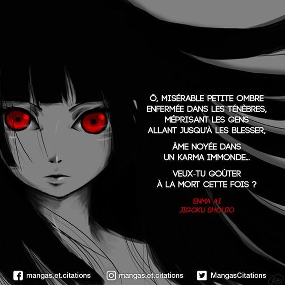 Citations Manga Ai Jingoku Shoujo Wattpad
