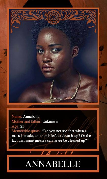HUGE shoutout to my amazing, super talented friend RodneyVSmith for these beautiful character cards I cannot quit gushing about