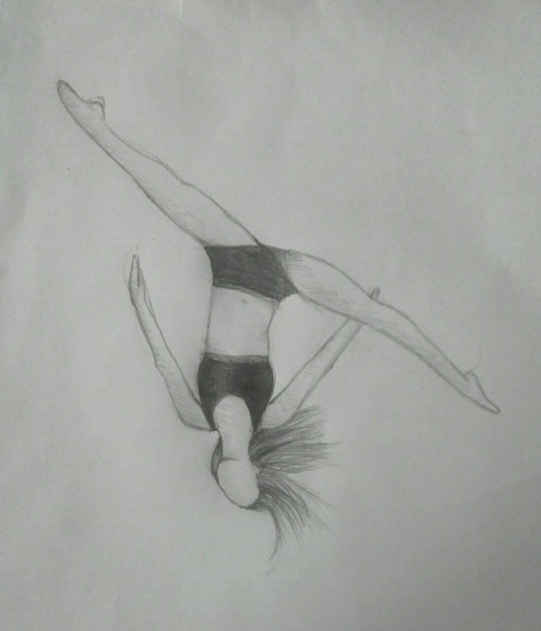 Moje Kresby 10 Gymnastka Wattpad