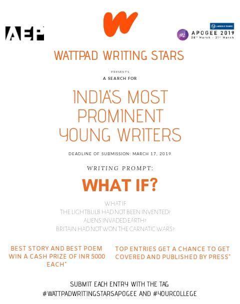 Wattpad Writing Stars (APOGEE edition)