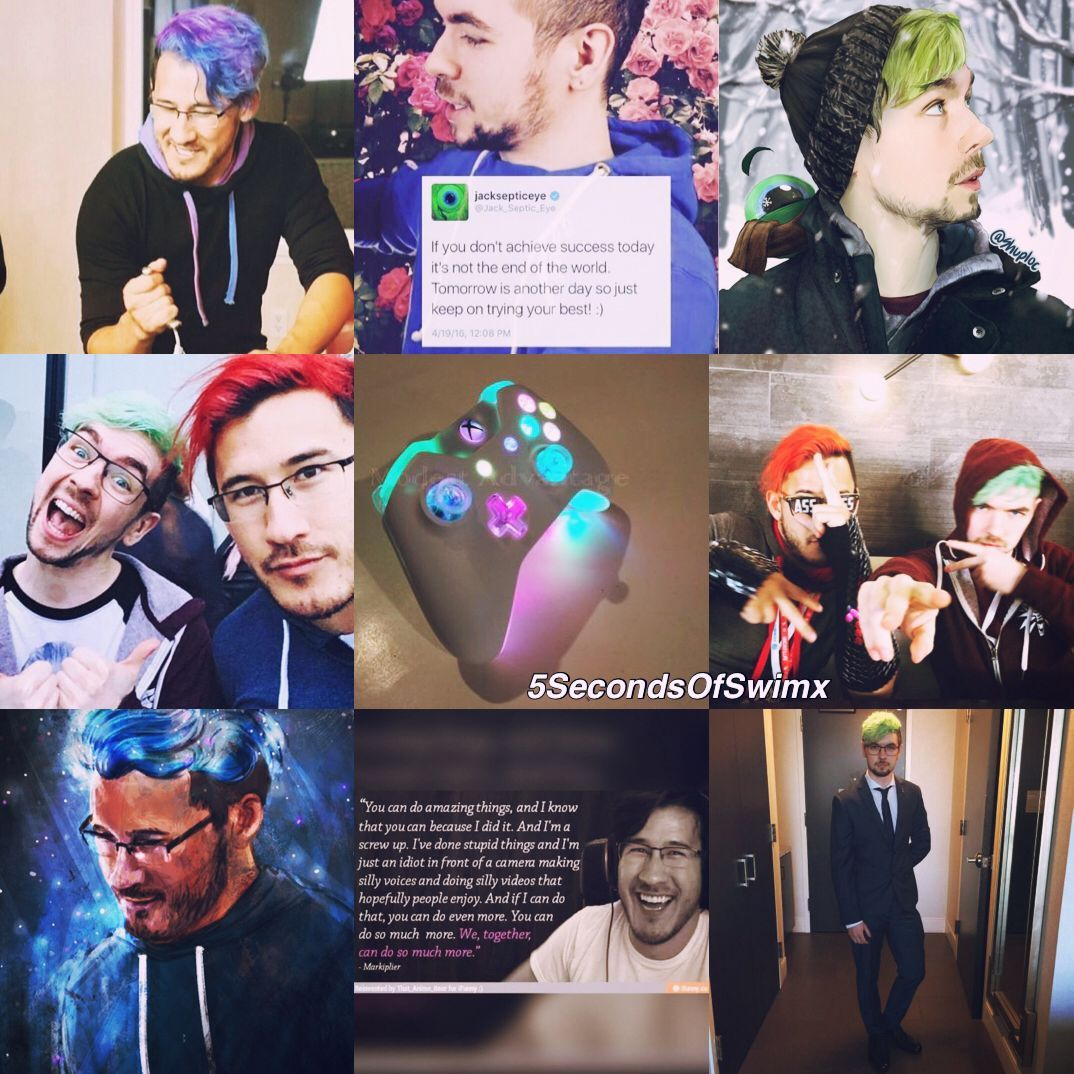 Requested by: SignificantAnnoyance // Markiplier/Jacksepticeye