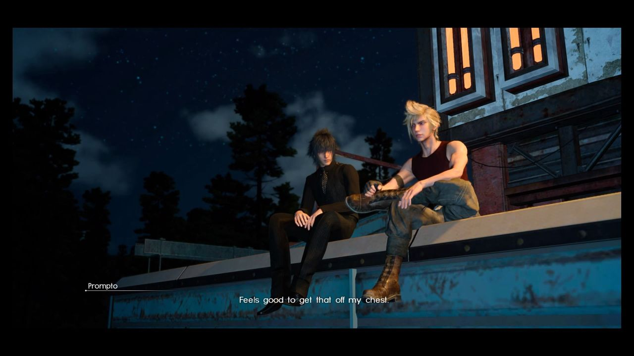 the world of final fantasy xv ffxv random book prompto feels and that s the basic overview for this chapter
