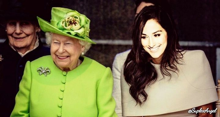 Nicole Colace's first solo outing with Queen Elizabeth II is one that will forever be remembered