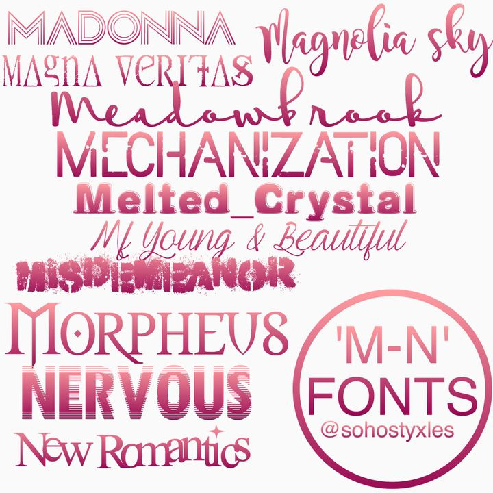 Pixlr Tutorials - [01] the best fonts - Wattpad