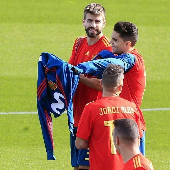 Benzema: find you someone who looks at you like Geri looks at Marc