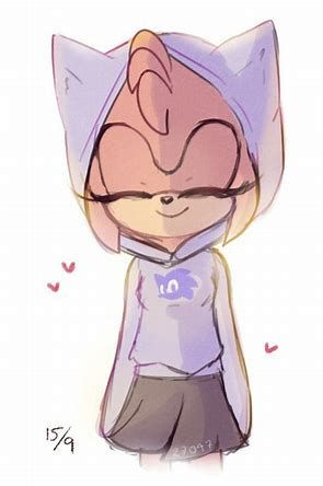 Amy: I GOT IT! *shows them while blushing slightly*