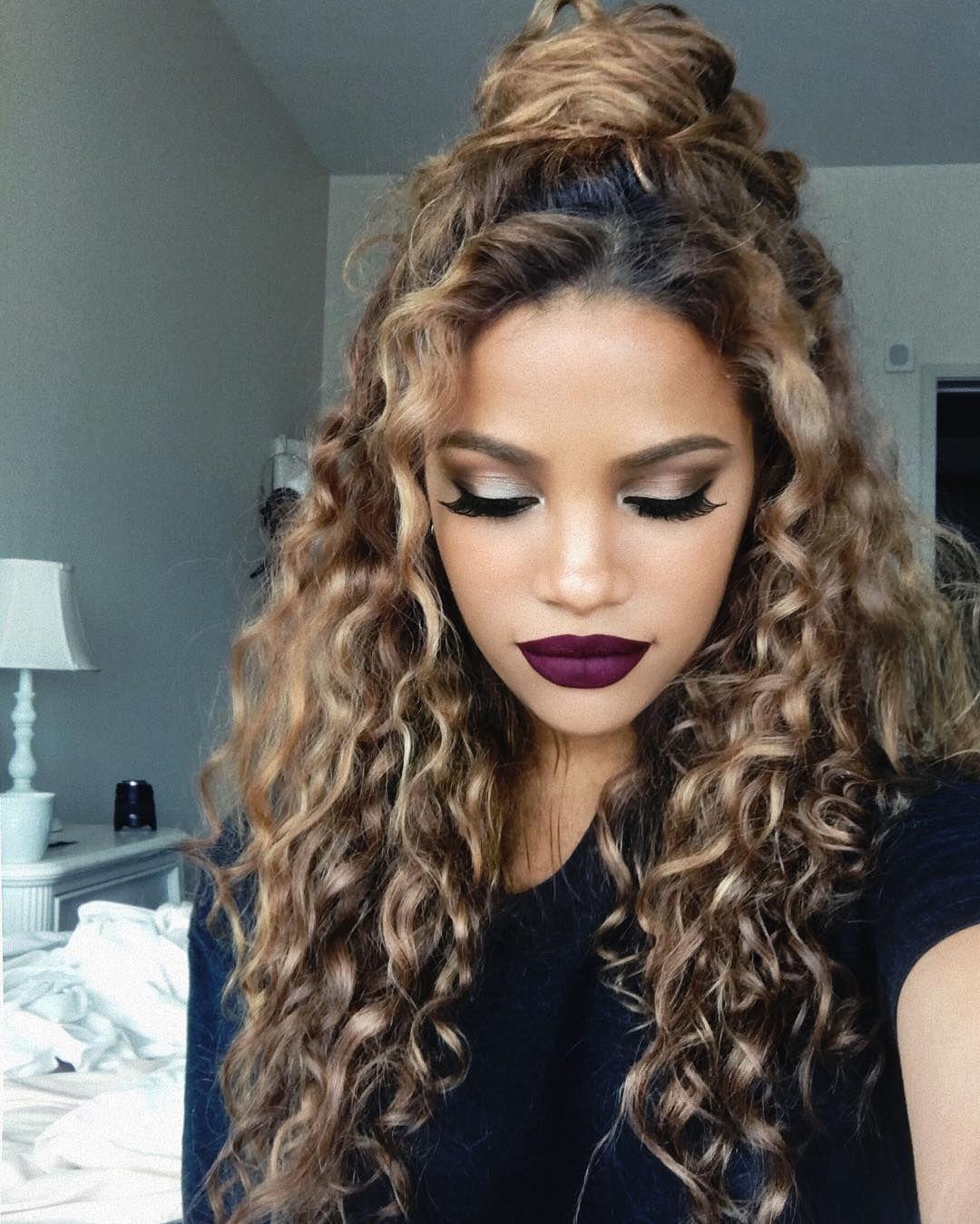 Como Ser Una Chica Tumblr Peinados Para Cabello Rizado Wattpad