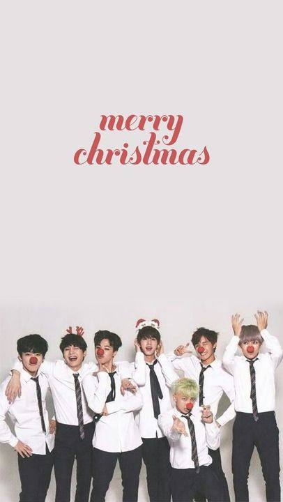 K Pop Wallpapers Bts Merry Christmas Wallpapers