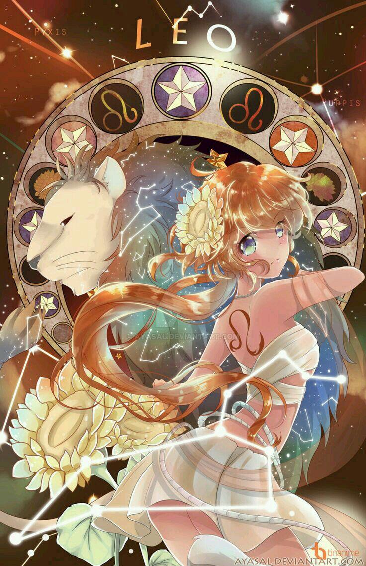 Xả Ảnh Anime - 12 Cung Hoàng Đạo GIRL