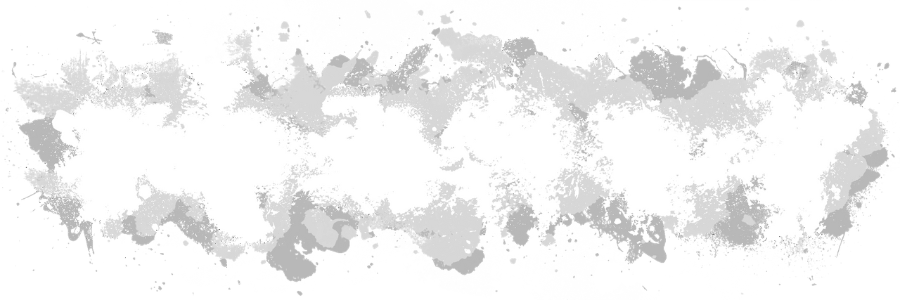 Black Paint Splatter Transparent