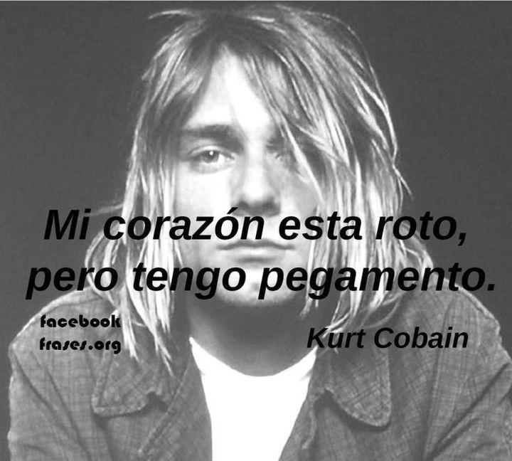 Frases De Famosos Rock Kurt Cobain Wattpad