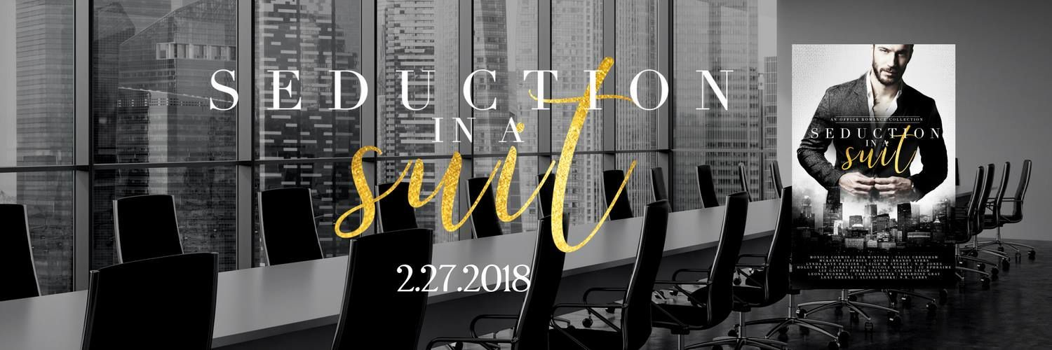 My novella is part of an exclusive collection of office romances (Seduction in a Suit), and is sizzling hot fun! PM me for your free copy of my story