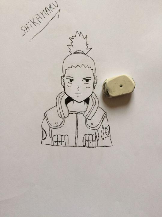 Dessin Personnage Manga Naruto
