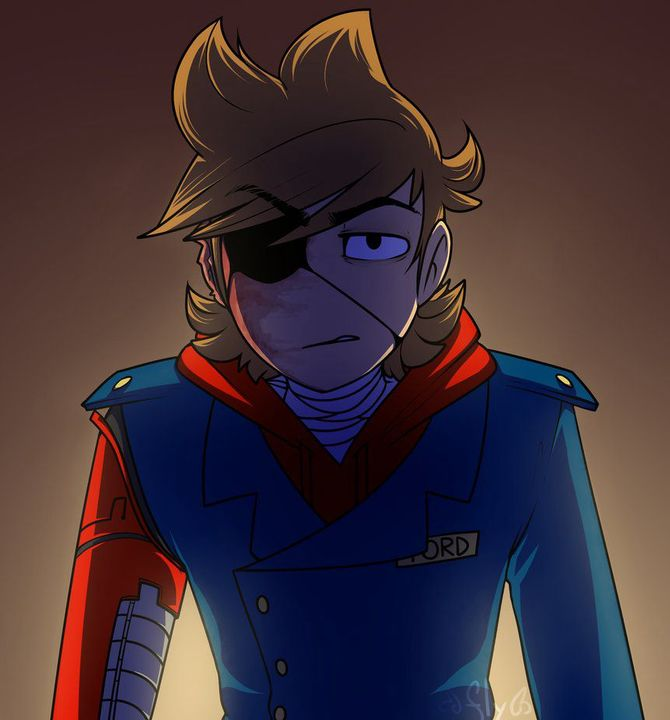 Eddsworld One Shots ∆x!Discontinued!x∆ - Red Leader! Tord X