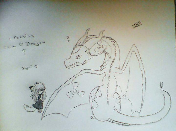 Mes Dessin Et Autre I Love Dragon Wattpad