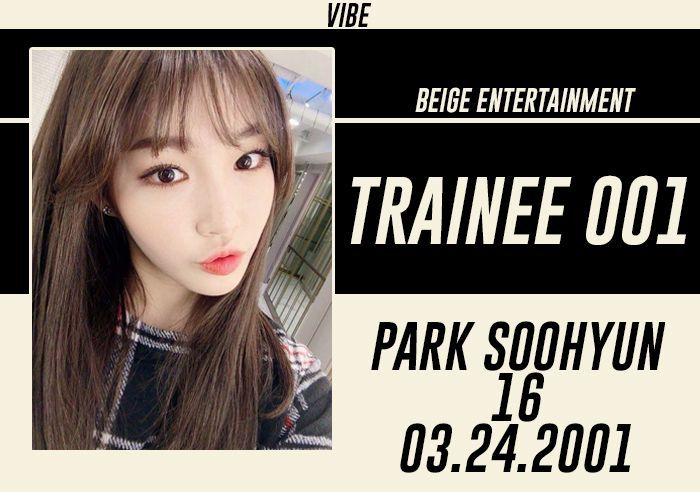 FULL NAME: Park Soohyun