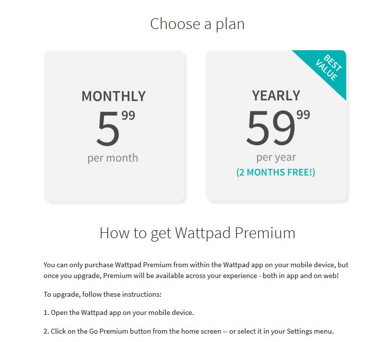 Beaches] Wattpad premium free