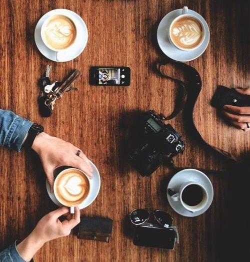 @pansyparkinson it was a coffee kind of daytagged; @hermionegranger, @ginnyweasley, @lunalovegood