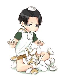 His Little Brat  {Levi x Reader} - Who Does He Resemble More?(Couple