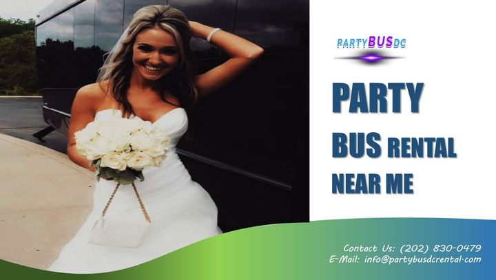 Party Bus DC Rental - Have Your Wedding Cake and Eat It Too