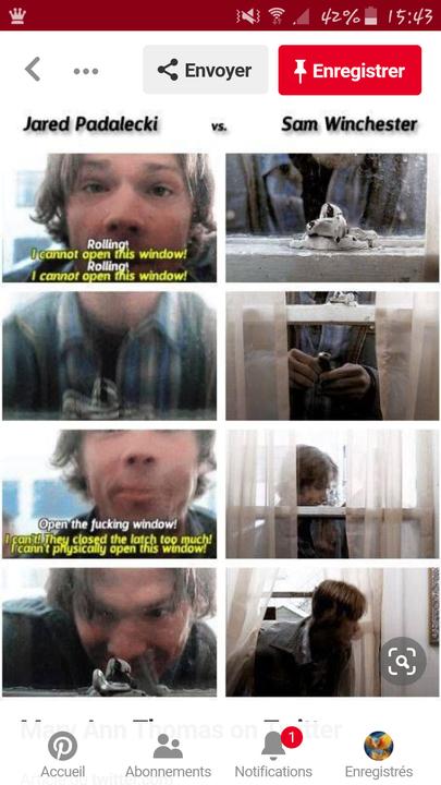La différence entre Jared et Sam 