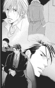 Di dalam kotak lift yang menuju ke atas, Shiiba melepaskan nafas yang tanpa sadar dia tahan