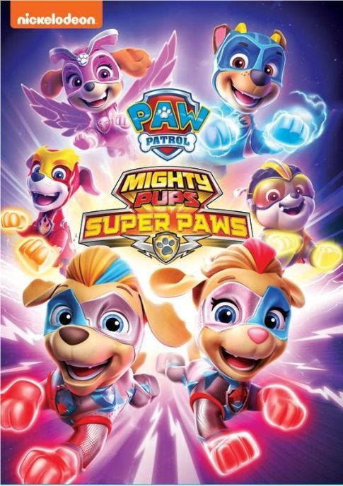 mighty pups charged up dvd