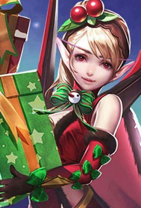Mobile Legends Wallpapers Karina Christmas Cheer