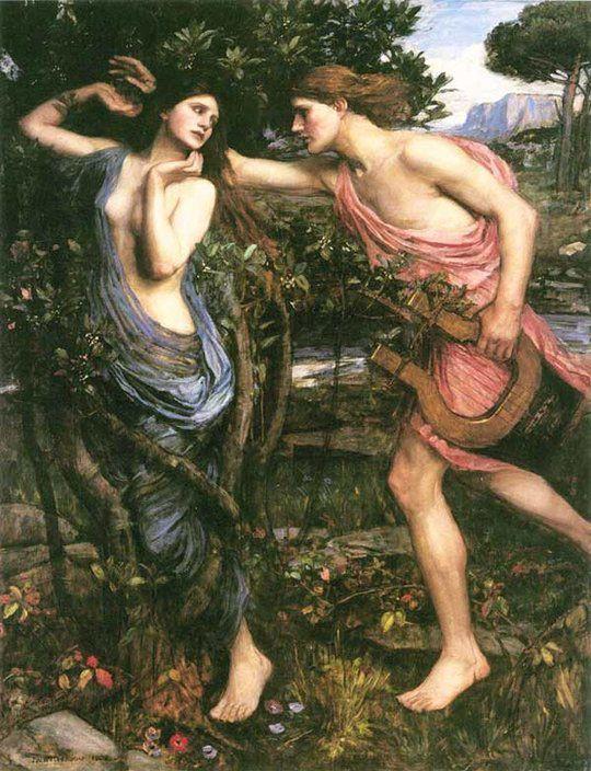 El dios tuvo más amoríos: con la ninfa Cirene, que engendró al semidiós Aristeo; con Talía, una de las Musas, obtuvo la paternidad de los Coribantes, que eran demonios del cortejo de Dioniso; con Urania, que engendró a los músicos Lino y Orfeo; ot...