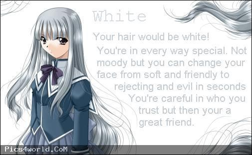 Anime Hair Color Meanings