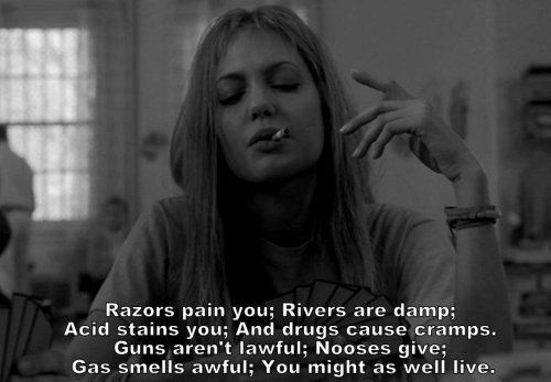 Poemsquoteslyrics - Girl Interrupted - Movie - Wattpad-7734