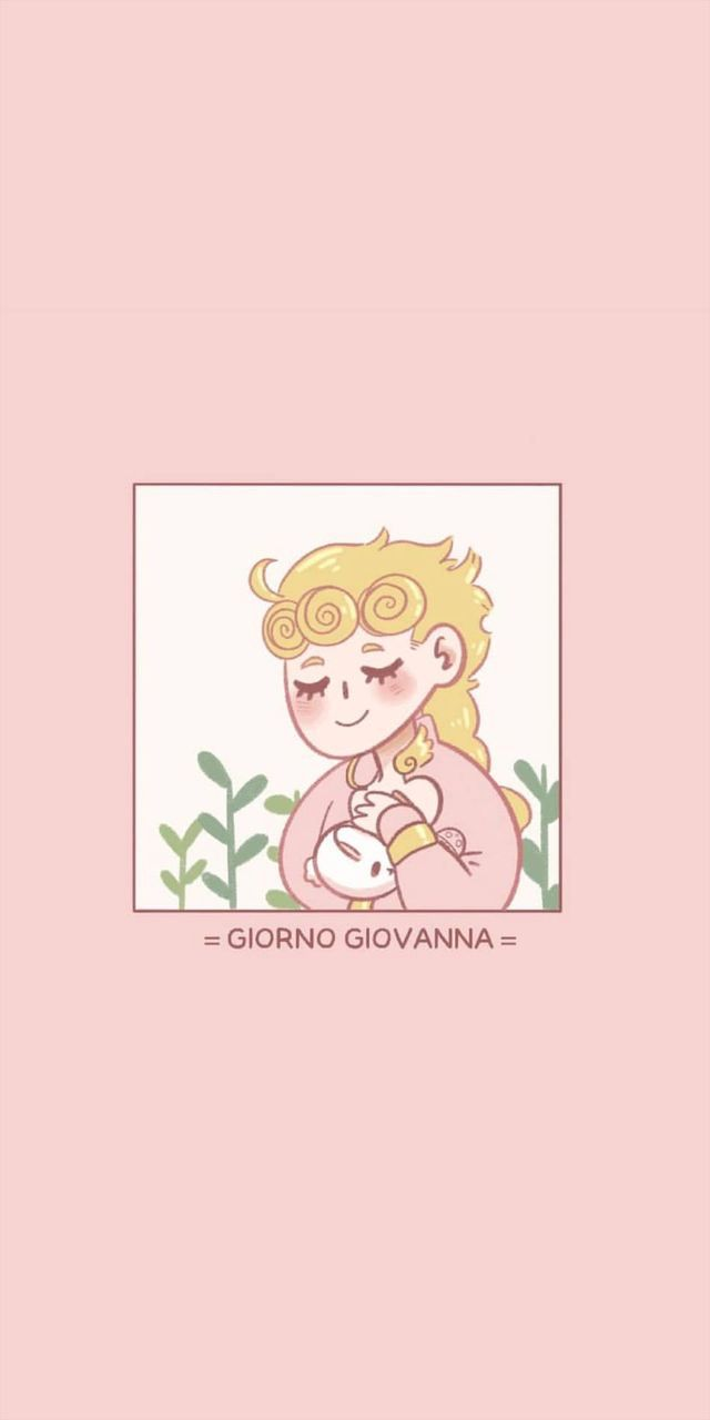 Wattpad Themes Ongoing Giorno Giovanna Gold Pale Pink Pt 2 Wattpad