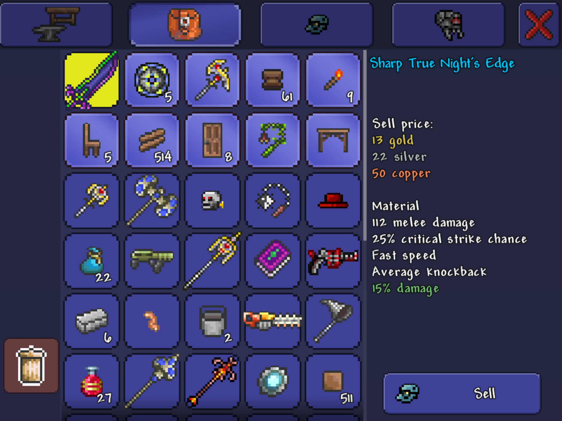 Terraria How To Get Broken Hero Sword Without Solar Eclipse This event will last for the entirety of the day which it happens on (15 minutes). recipepes com