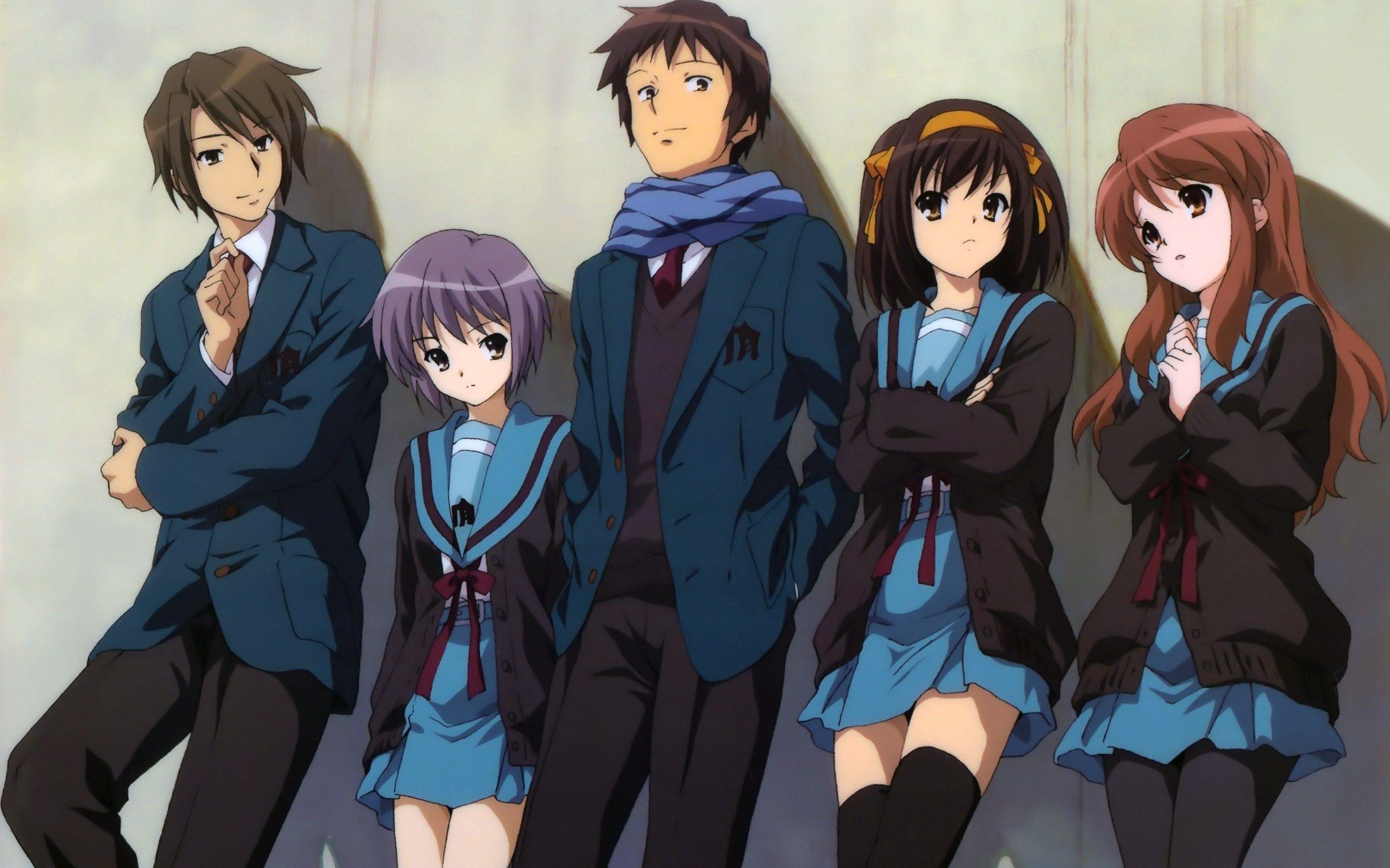 Aesthetica Of A Rogue Hero Ita anime empfehlungen - die melancholie der haruhi suzumiya